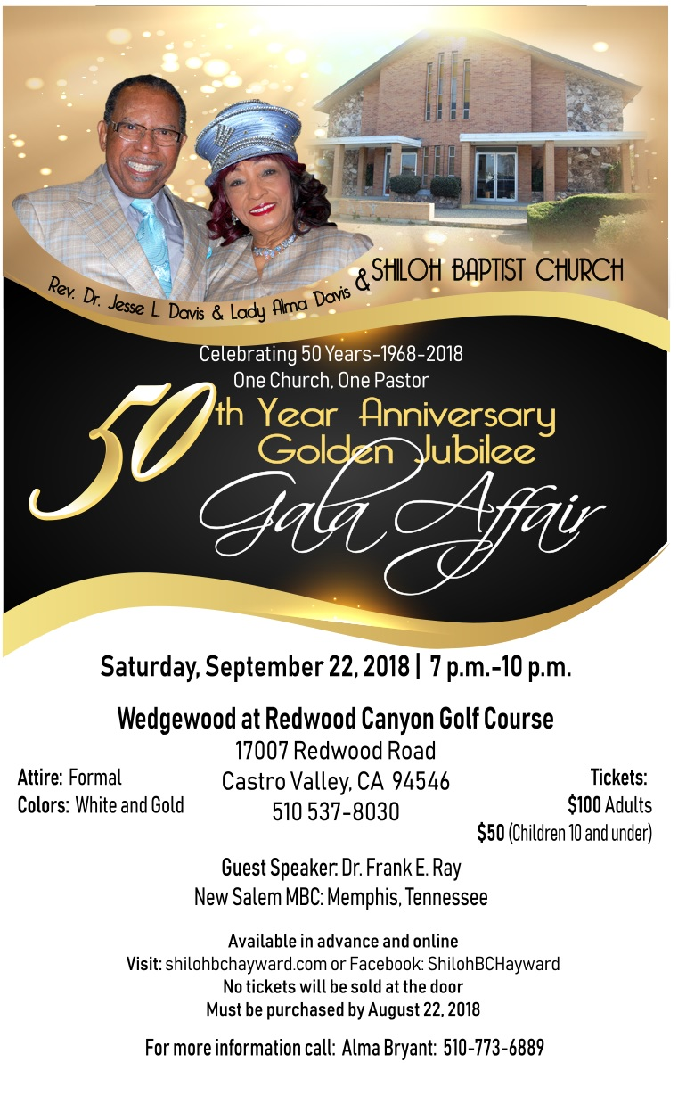 50th Anniversary Golden Jubilee Gala Affair