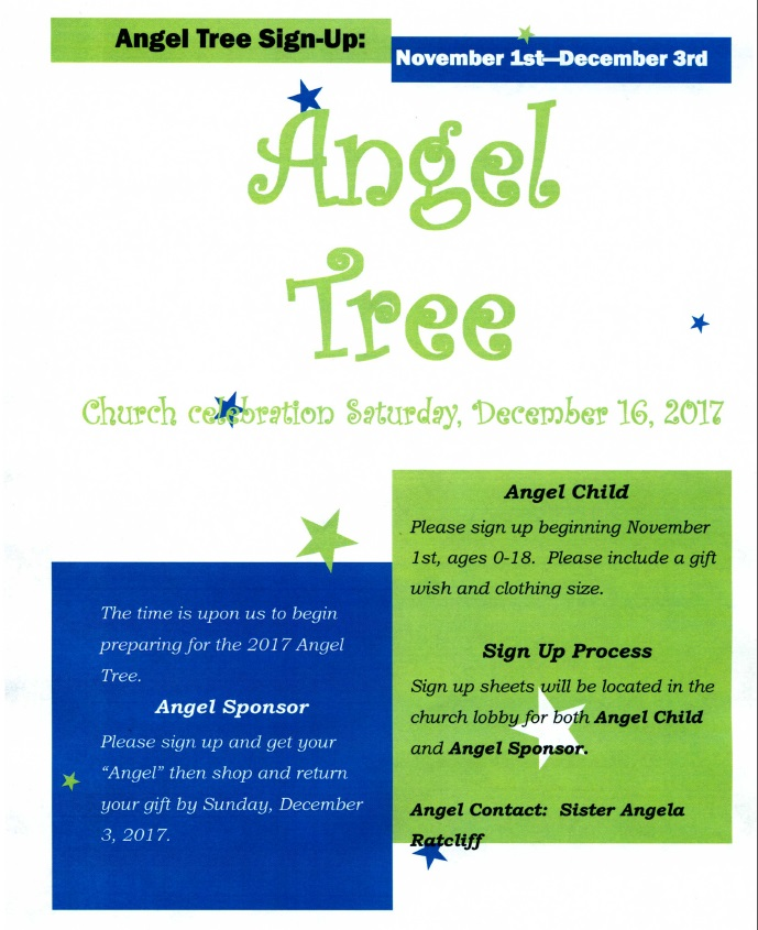 Angel Tree Flyer 2017